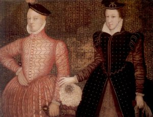 Mary and Darnley circa 1565 (Public Domain via Wikimedia Commons)
