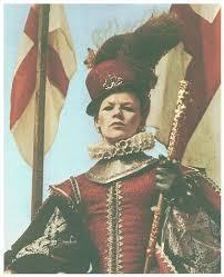 Elizabeth at Tilbury - portrayed by Glenda Jackson in the BBC's wonderful 1971 series, Elizabeth R