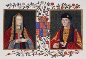 Henry VII and Elizabeth of York by Sarah Malden (Public Domain via Wikimedia Commons)