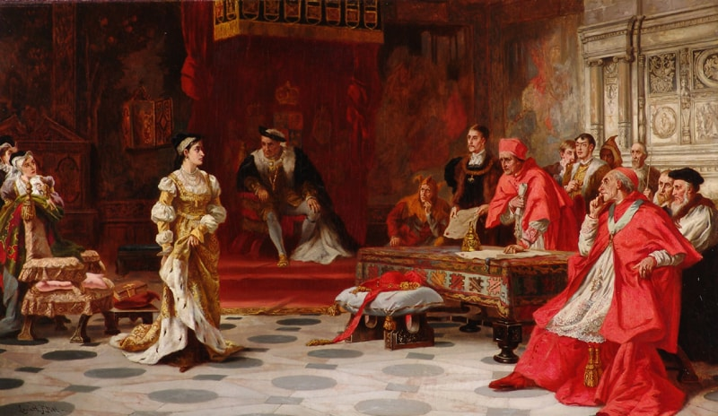 May 31, 1529 – Opening of the Legatine Court at Blackfriars