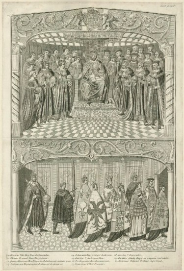 State Opening of Parliament in the Reign of Henry VIII, by Joseph Sympson