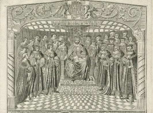 June 8, 1536 – Henry Rides in Procession to Open Parliament