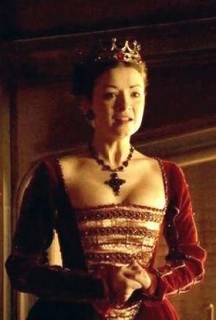 Mary Tudor as played by Sarah Bolger in The Tudors