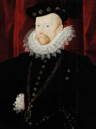 Portrait of Sir Amyas Paulet, attributed to Nicholas Hilliard