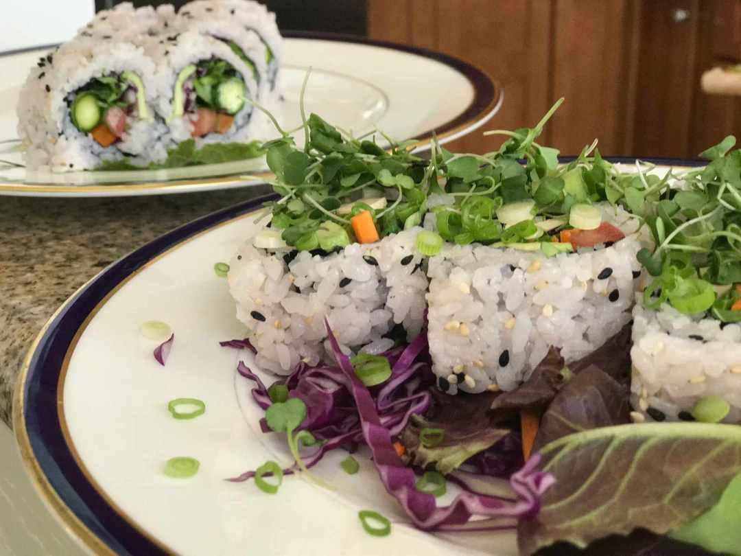 LBL Brenda Wong Vegan Sushi Rolls 2