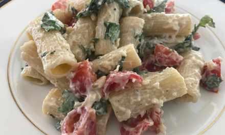 Creamy, Comforting Rigatoni Mascarpone