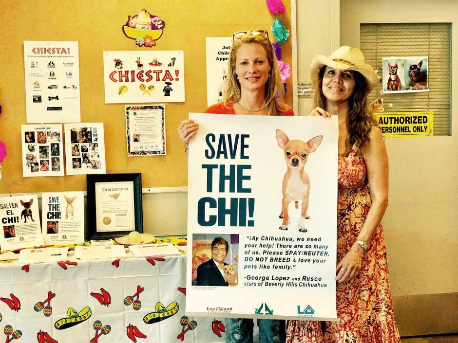 Alison Eastwood and Linda Carel Save the Chi