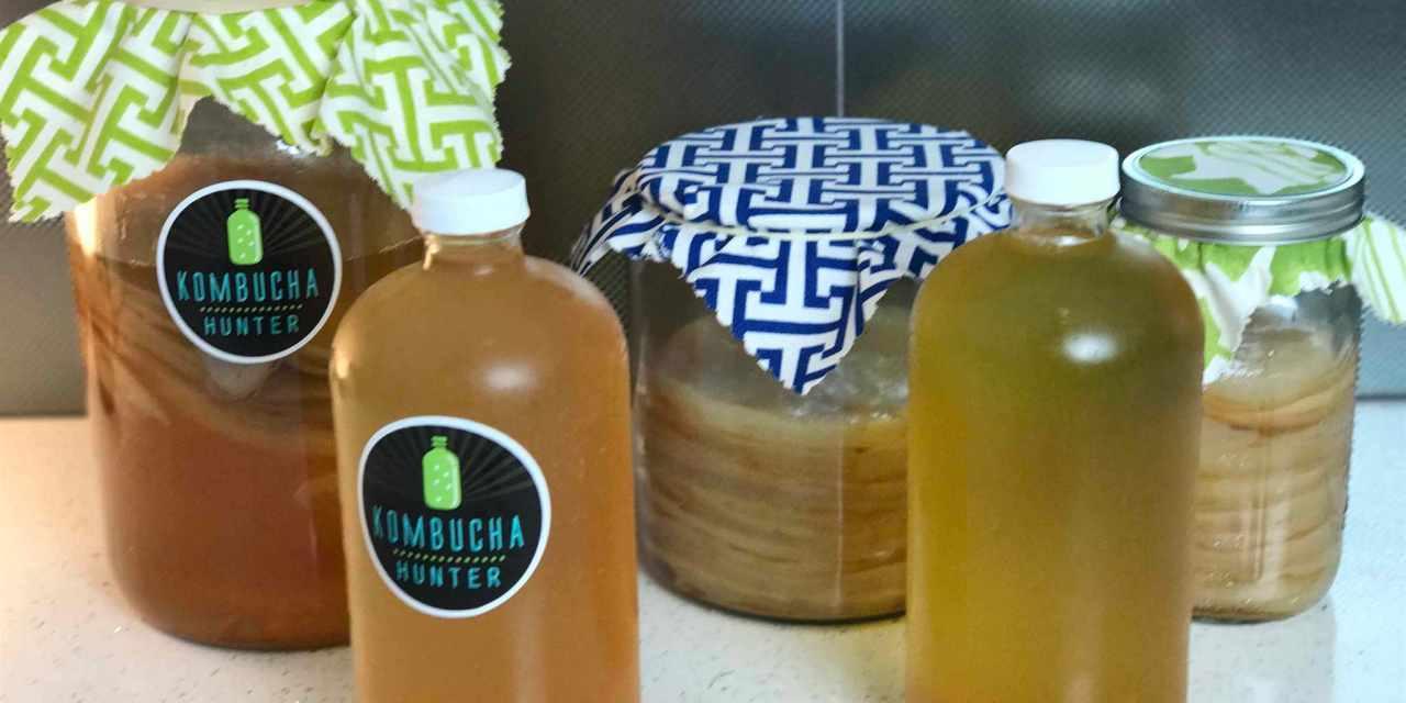 How to Make Home-Brewed Kombucha