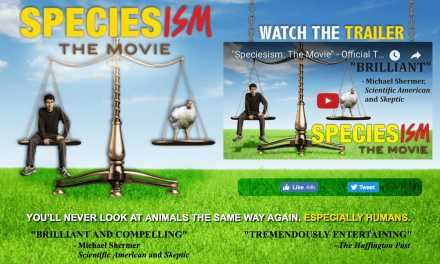 """Speciesism The Movie"" Producer to Speak at 2017 Animal Rights Conference!"