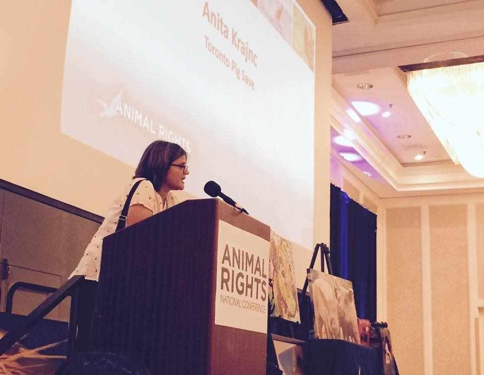 Anita at AR Conf 2017