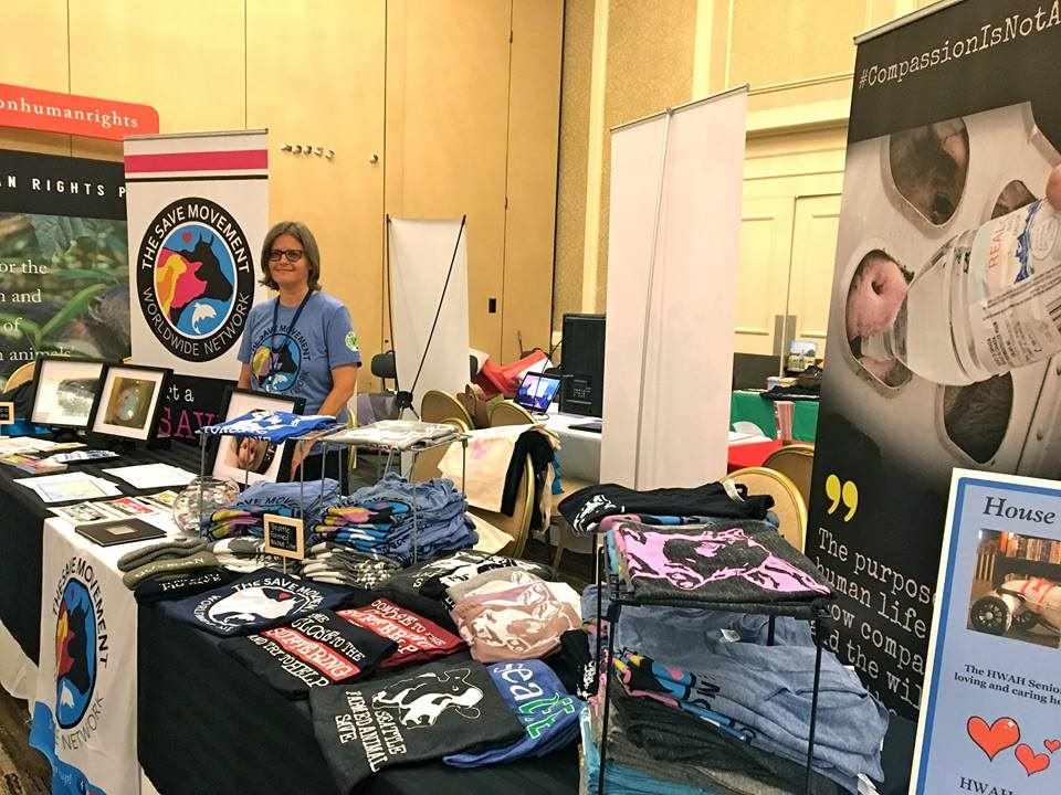 Anita at Booth at AR Conf 2017