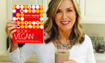 Kathy Freston's Plant-Based Powerhouse Vega Protein Smoothie