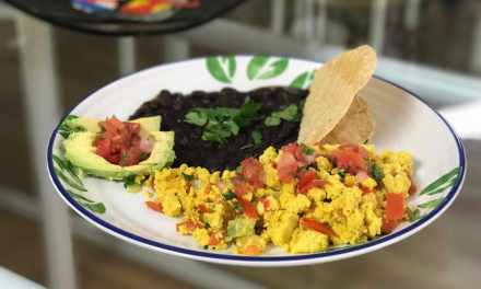 Tofuevos – A Mexican Style 'Eggless' Dish with Tofu (instead of eggs)
