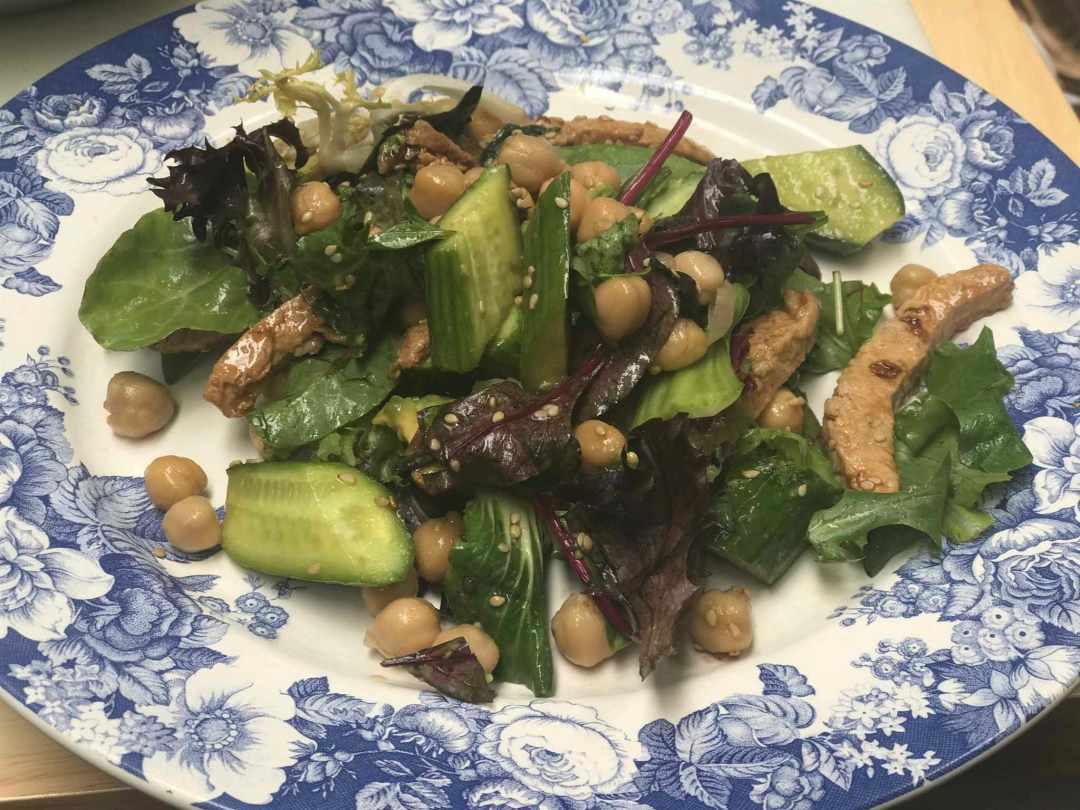 LBL Duncan Burns plated salad w:dressing