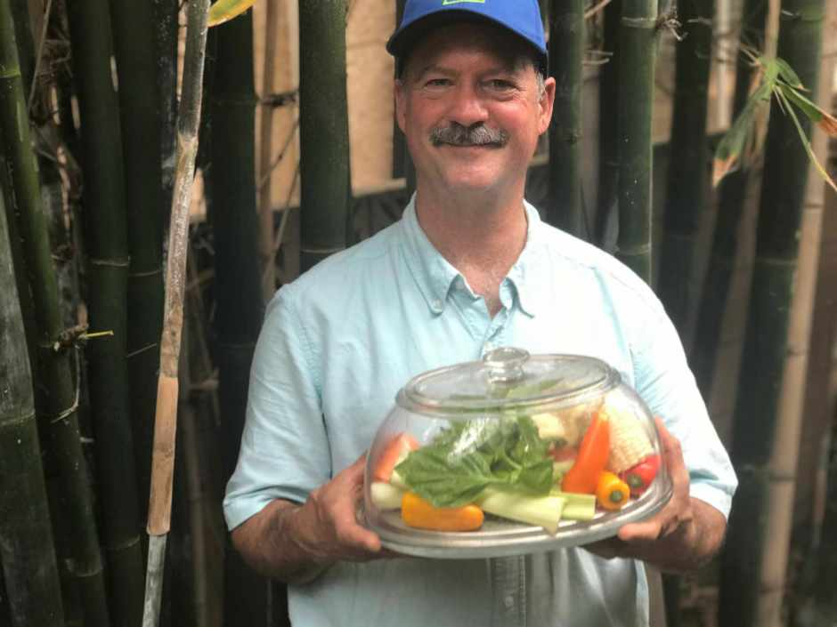 LBL Duncan Burns with VeggiDome