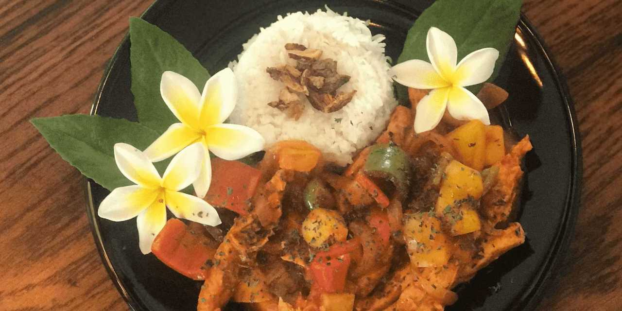 "Fabulous Filipino Fritada with Gardein Meatless ""Chick'n"""