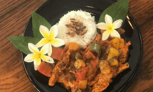 "Fabulous Filipino Fritada with Gardein Meatless ""Chick'n"""
