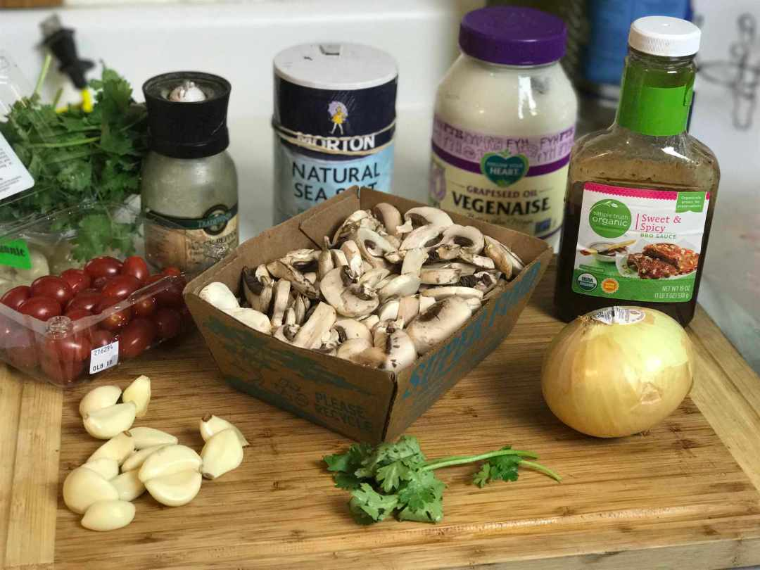 LBL Chef Sol Ingredients for Pulled Mushrooms