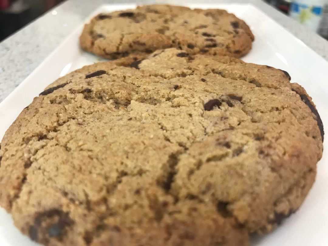 LBL Synegetics Vegan Gluten Free Choc Chip Cookie