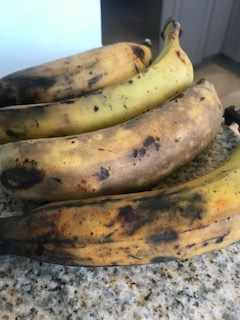 Sweet Ripe Plantains (raw)