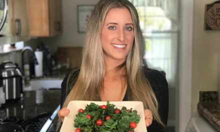 Stove Top Truffle Kale Chips