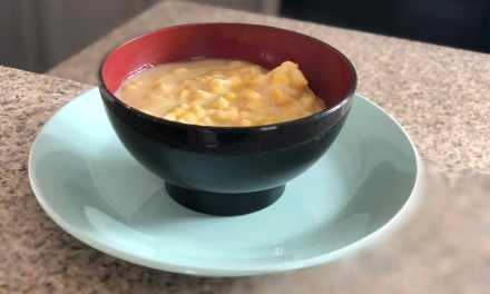 Creamy Corn Casserole, Vegan Style!