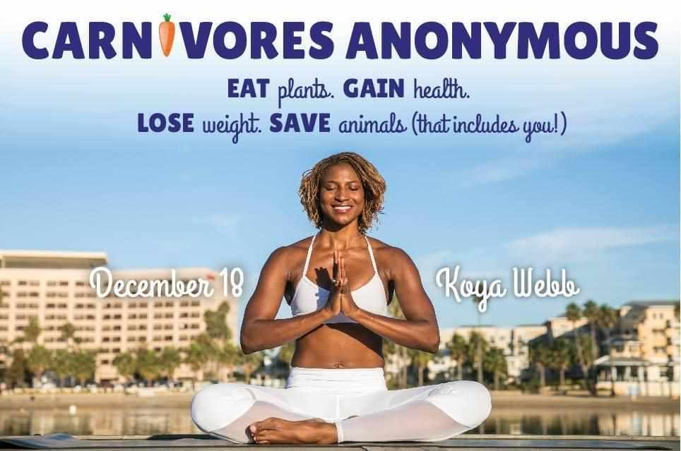 Koya Webb's Amazing Carnivores Anonymous Share!