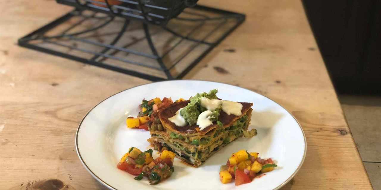 Enchilada Lasagna? Dairy-Free & Delish!