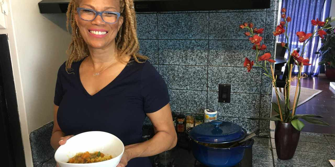 Swift Sweet Potato Curry in the Kitch with Sherri Sheree & VeganRamaMama