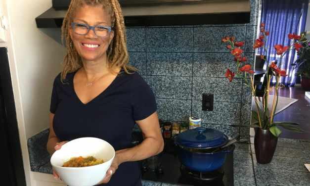 Swift Sweet Potato Curry in the Kitch with Sherri Sheree & VeganRamaMama