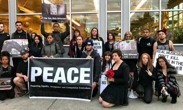 Activists Crash Supermarket With Silence Speaks Volumes!