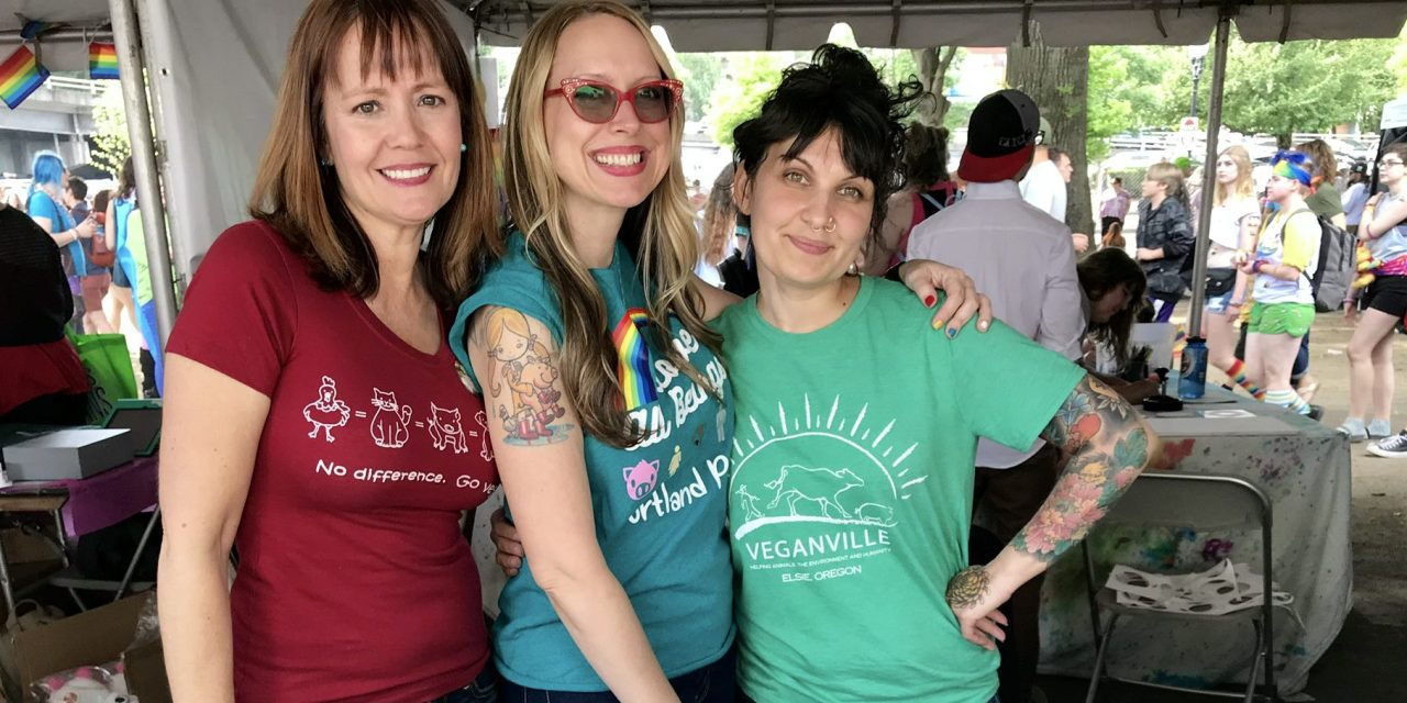 Proud And Happy Vegans Reach Thousands At Pride Fest!