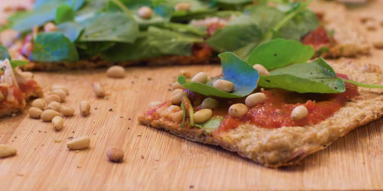 Garden Party Pizza