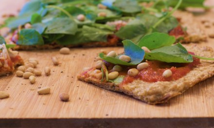 Garden Party Pizza