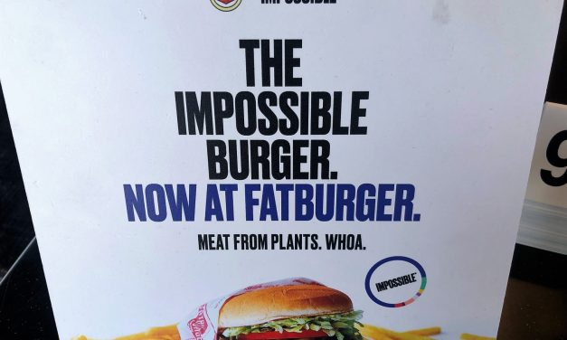 Times are Changing: Fatburger Offers Plant-based Impossible Burger!
