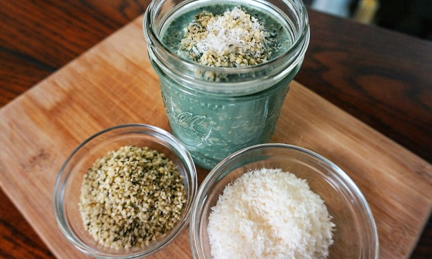 Did You Make Breakfast Last Night? Spirulina Surprise Oats Recipe!