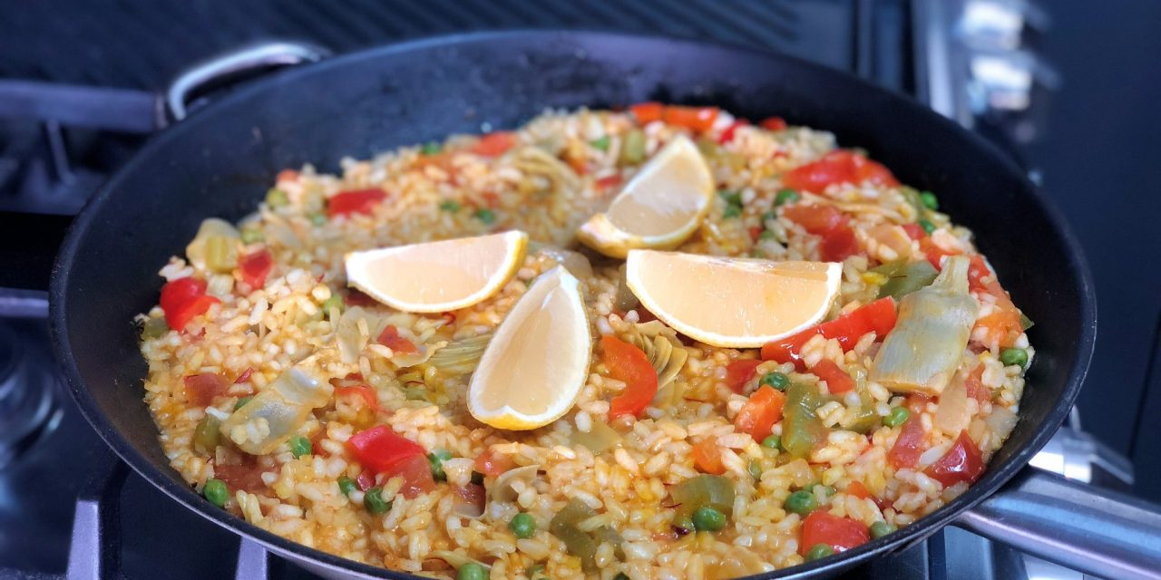 Vegan Spanish Paella Party!