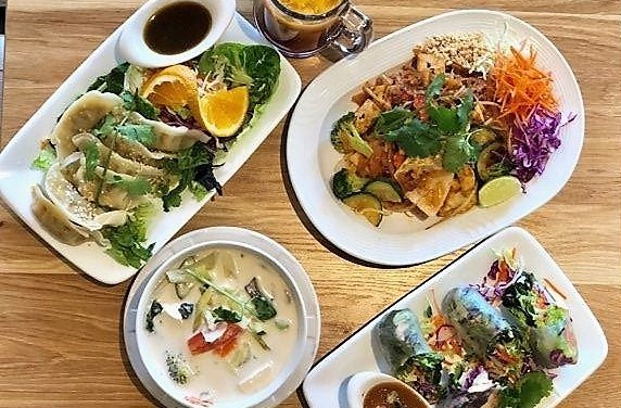 Delicious Far East Inspired Eats at Thai Vegan II!