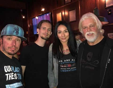 Making Waves with The Sea Shepherd Crew at Beelman's Pub!