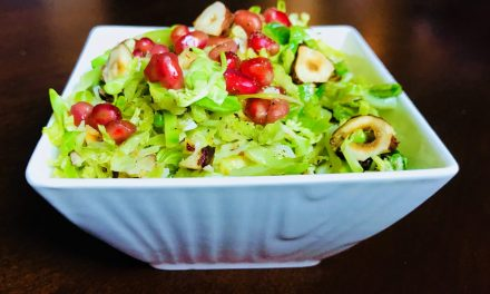 Shredded Sprouts with Toasted Hazelnuts