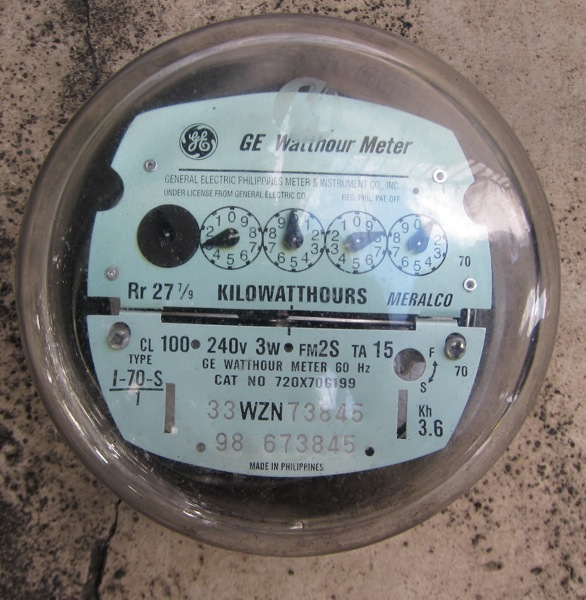 My Meralco electric meter is finally digital! - Life, Take 2Life, Take 2