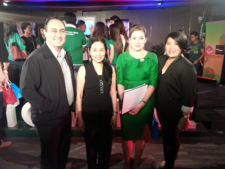 With Pia Hontiveros