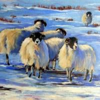 Winter Flock print