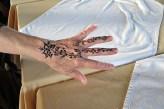 In Essaouira we all got henna tattos.