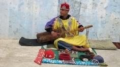 Street musician, Chefchaouen