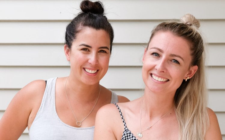Breeder's Digest parenting podcast hosts Jane Yee and Bec Whitley