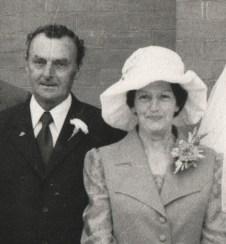Grandpa and Nana Smith 1976