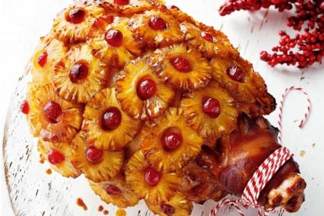 Glazed Pineapple & cherry