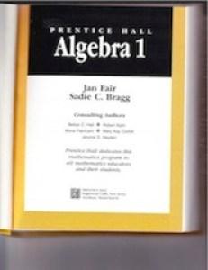 Algebra I - Title Page