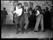 Marion Post Wolcott: Jitterbugging in Negro juke joint, Saturday evening, outside Clarksdale, Mississippi. 1939.